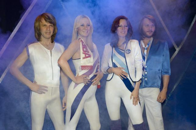 ABBA w muzeum supergrupy