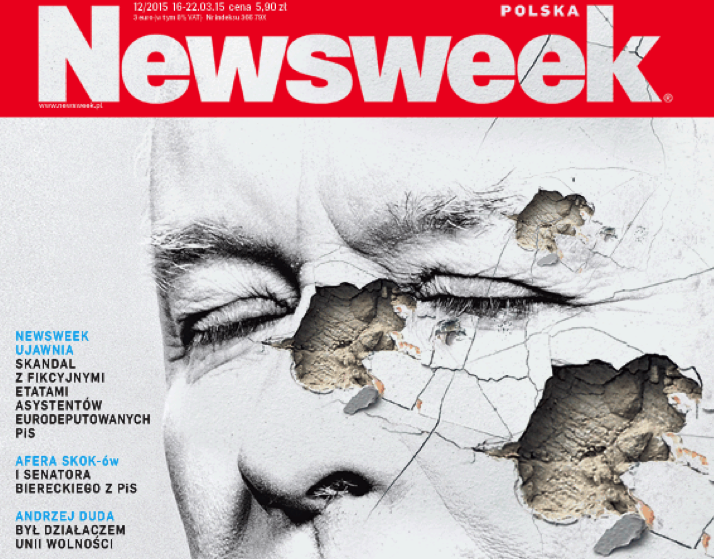 Okładka Newsweeka