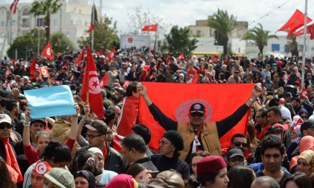 Komorowski w Tunisie na marszu przeciwko terroryzmowi. ZOBACZ ZDJĘCIA