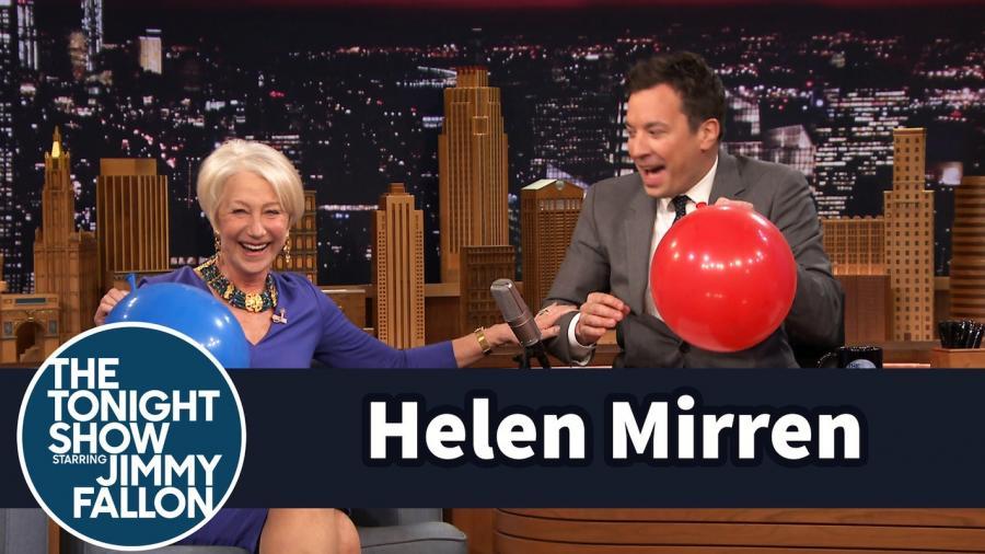 Helen Mirren w programie Jimmy\'ego Fallona