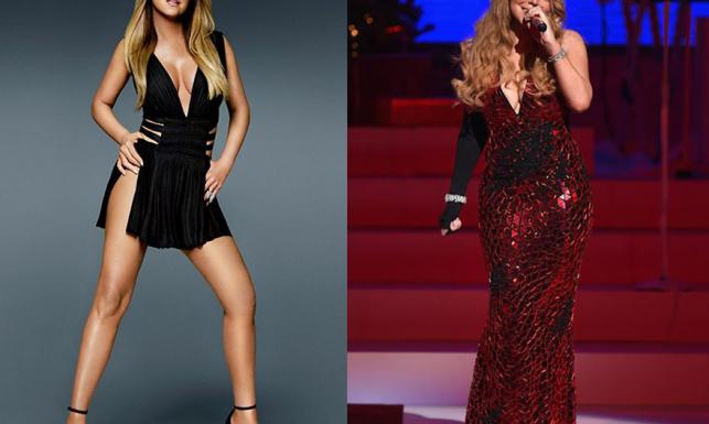 Ona tak nie wygląda! Mariah Carey znów chce nas nabrać na Photoshopa [ZDJĘCIA]