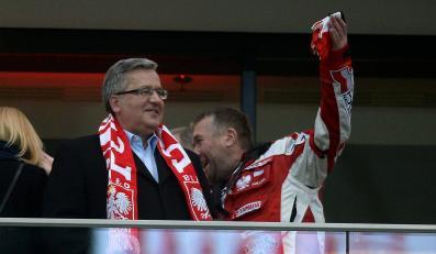 Prezydent Komorowski świadkiem skandalu na Stadionie Narodowym