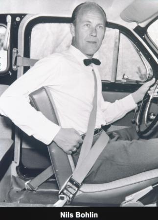 Nils Bohlin - inżynier Volvo