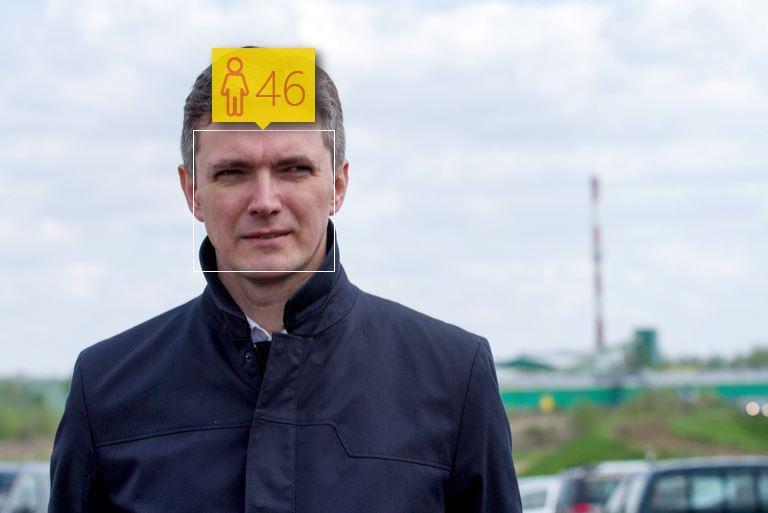 Adam Jarubas i jego wiek według How-Old.net