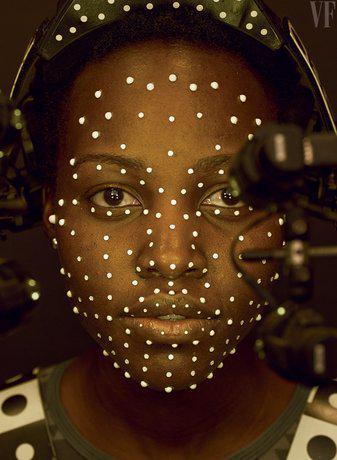 """Lupita Nyong'o w magazynie """"Vanity Fair"""""""