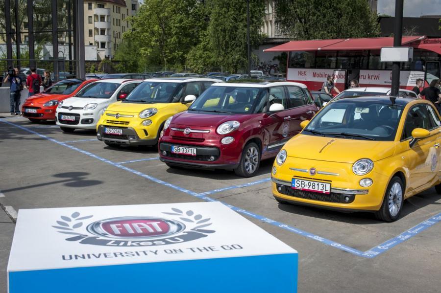 Pięć samochodów do wyboru - wynajem za darmo