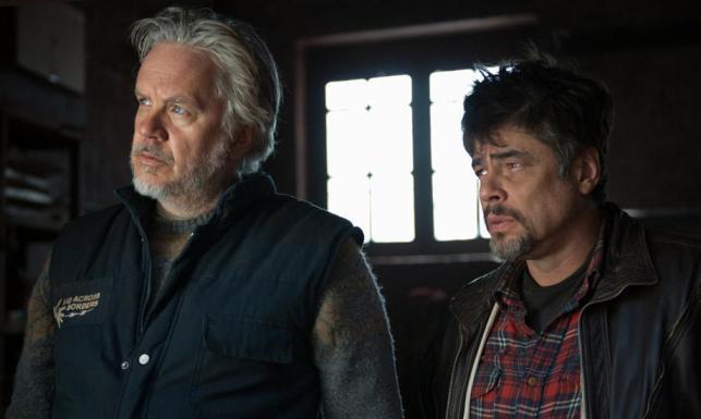 Tak wygląda idealny dzień Benicia Del Toro i Tima Robbinsa [ZDJĘCIA]