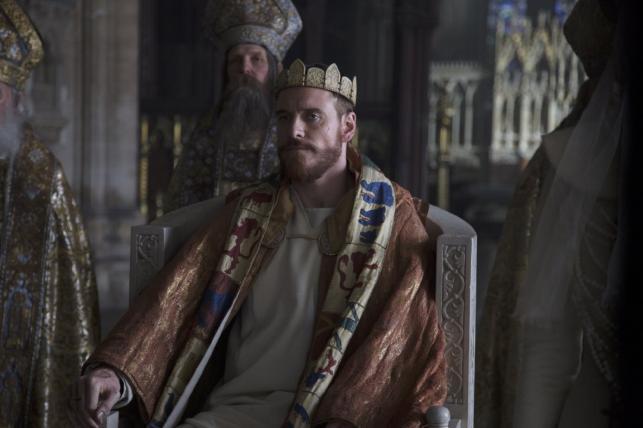 Michael Fassbender jako Makbet