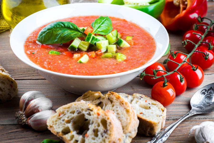 Przepis Na Gazpacho Lepszej Zupy Na Upal Nie Wymyslicie Kuchnia