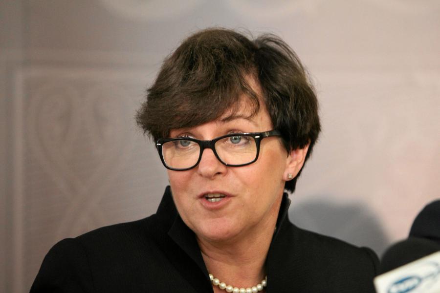 Minister edukacji narodowej Joanna Kluzik-Rostkowska