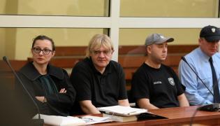 Mariusz Trynkiewicz w czasie procesu
