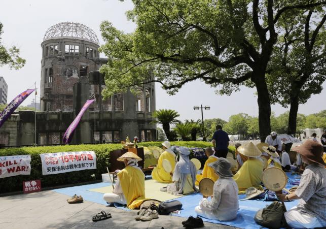 70 rocznica ataku na Hiroszimę