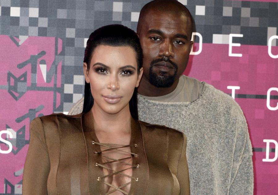 Kayne West i Kim Kardashian