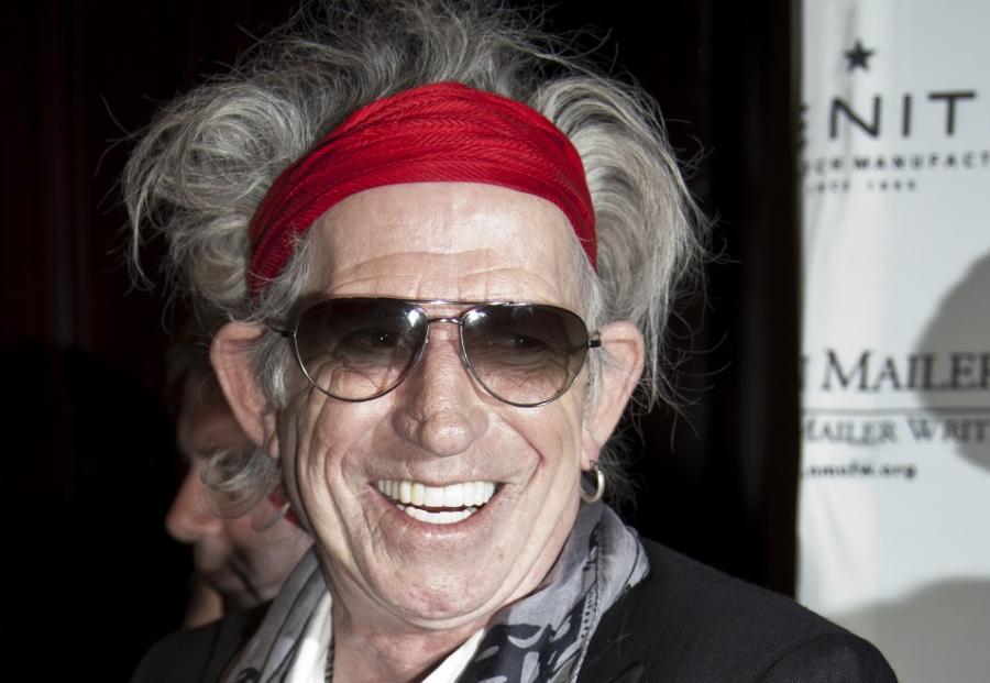 Keith Richards bohaterem \