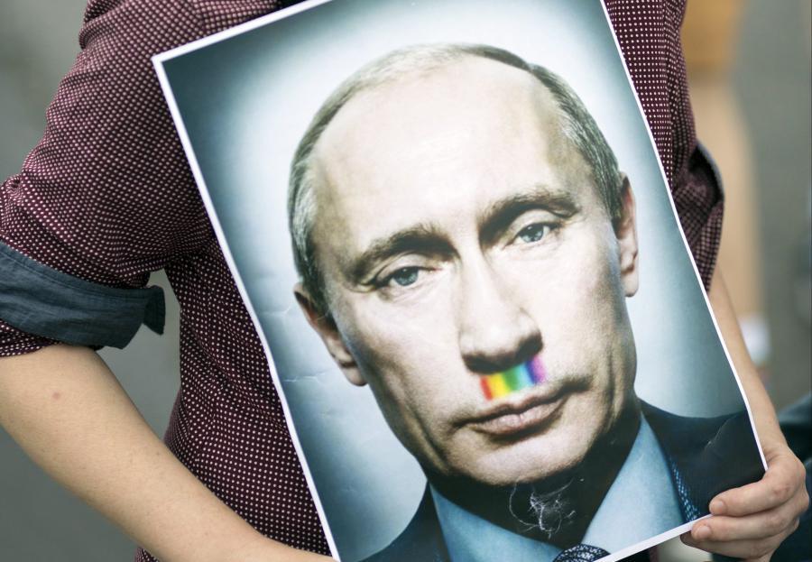 Portret Władimira Putina