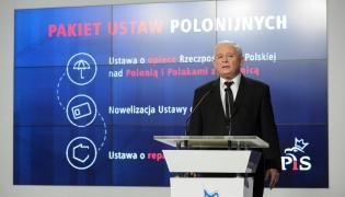 """Jarosław Kaczyński w kwestii repatriacji zarzucił rządowi """"hipokryzję wyborczą"""""""