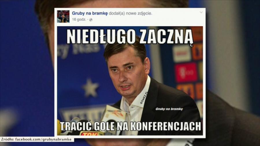 Internauci drwią z pasma porażek Lecha Poznań