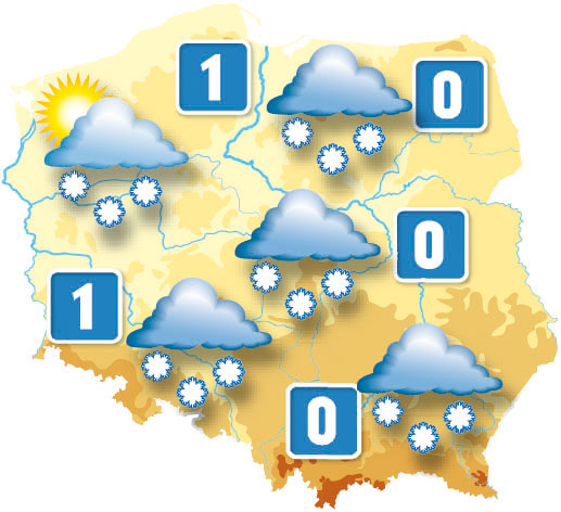 Taka będzie pogoda 1 stycznia 2008