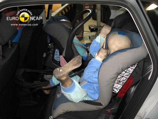 VW Polo - ochrona dzieci: 86 proc.