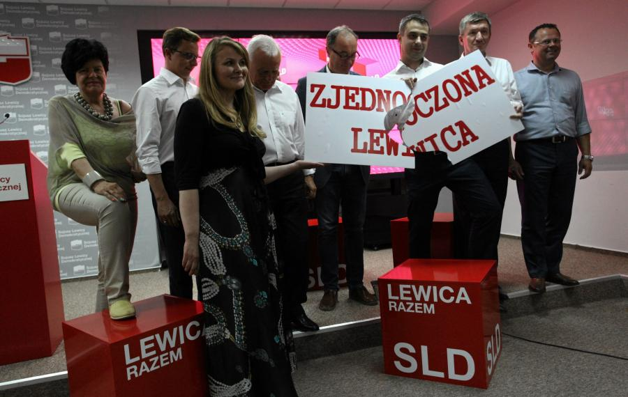 Leszek Miller, Joanna Senyszyn Krzysztof Gawkowski, Jerzy Wenderlich, Wlodzimierz Czarzasty, Katarzyna Piekarska, Dariusz Jonski, Andrzej Szejna i Artur Gorczynski