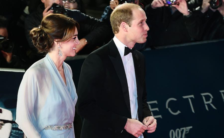 """Książę William i księżna Catherine na światowej premierze """"Spectre"""""""