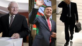 Leszek Miller, Janusz Piechociński i Ludwik Dorn