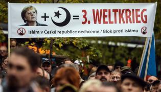 Antyislamska demonstracja w Czechach