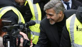 George Clooney pomaga bezdomnym