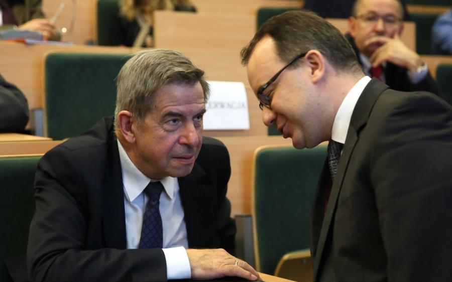 Prof. Andrzej Zoll i Adam Bodnar