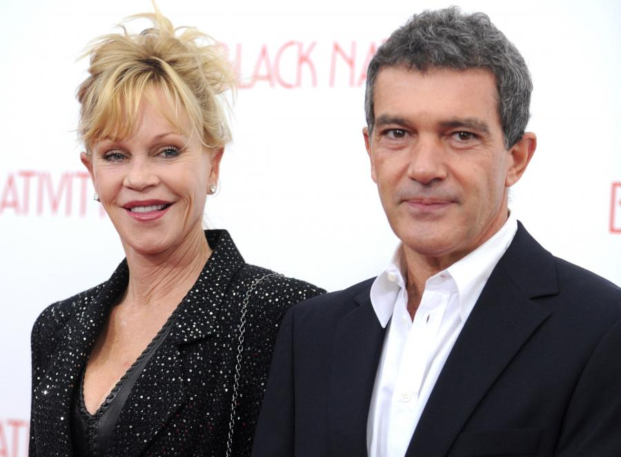 Melanie Griffith i Antonio Banderas po rozwodzie