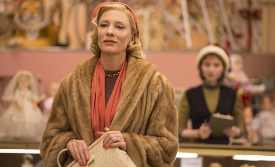 "Cate Blanchett i Rooney Mara w filmie ""Carol"""