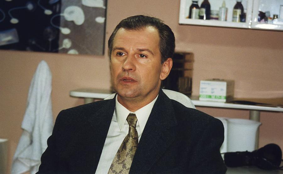 Tomasz Stockinger w serialu \