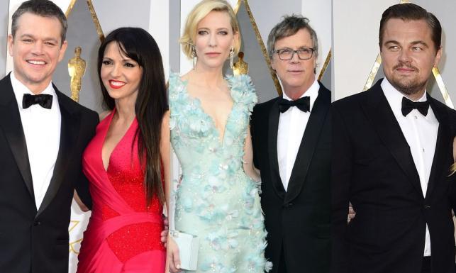 Matki, żony i kochanki... Zobacz, kto z kim przyszedł na Oscary?