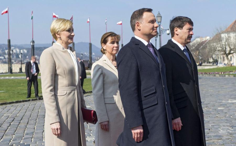 Spotkanie prezydentów Węgier i Polski