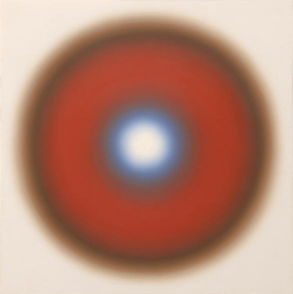 Wojciech Fangor M 89, olej na płótnie, 168 x 168 cm, 1967r