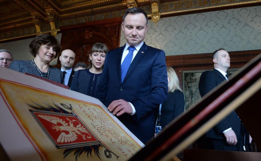 Andrzej Duda zapoznał się z kolekcją \