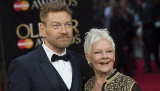 Judi Dench i Kenneth Branagh na 40. gali Olivier Awards w Londynie