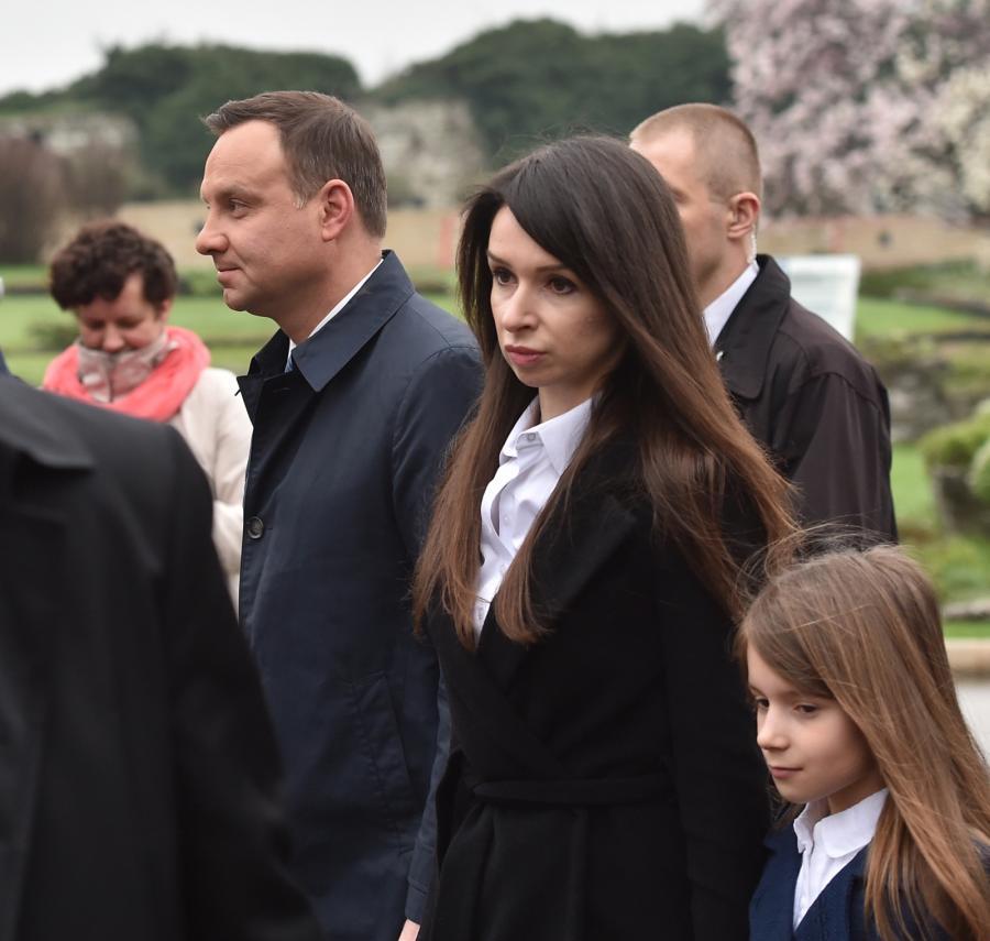Andrzej Duda i Marta Kaczyńska