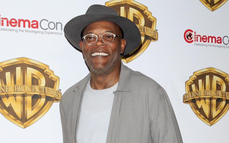 Samuel L. Jackson na CinemaCon 2016