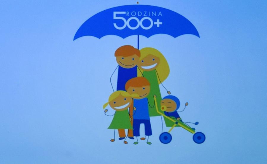 Logo programu 500 plus