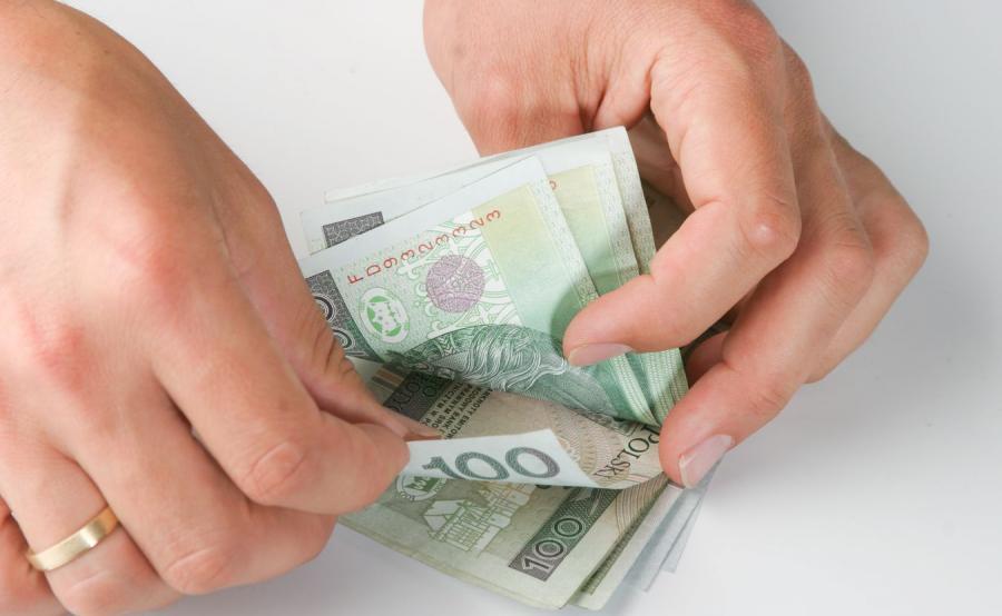 Liczenie pieniędzy