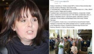 Karolina Korwin Piotrowska, screen z profilu Ministerstwa Kultury