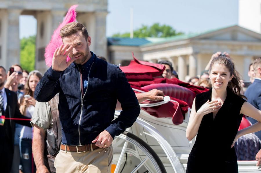 Justin Timberlake i Anna Kendrick w Berlinie