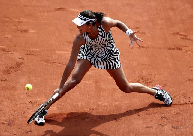 """""""Zebry"""" królują na strojach zawodników podczas French Open"""
