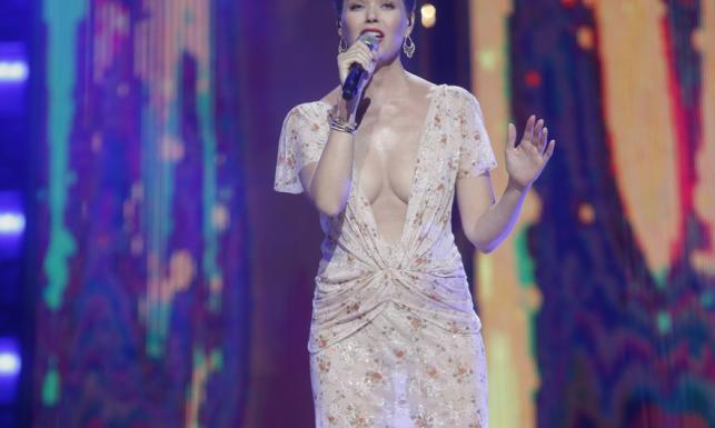 Bez TEJ sukni byłoby widać tyle samo! Pozornie ubrana Tamara Arciuch w Sopocie