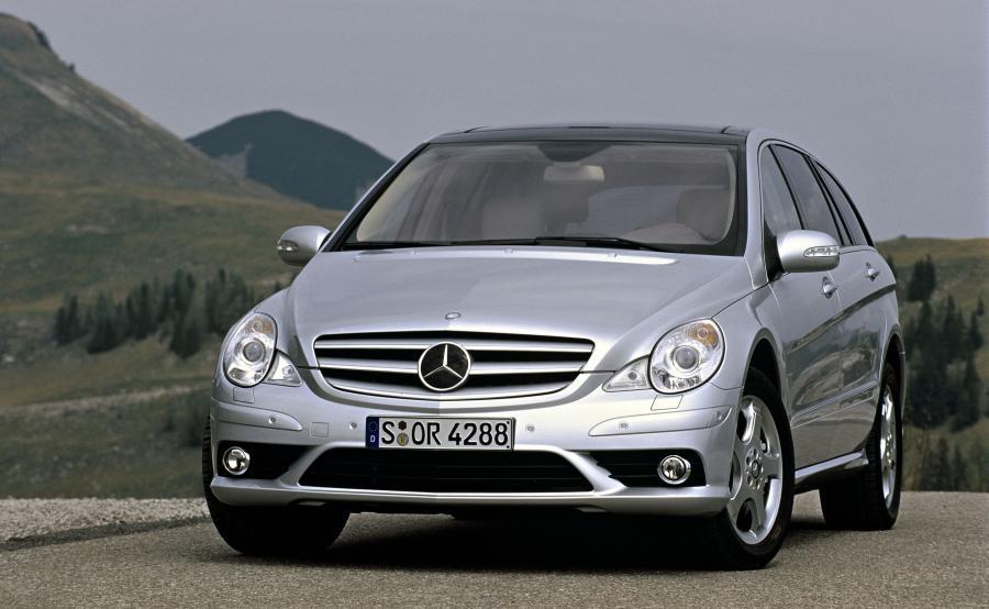 Mercedes klasy R - produkcja ruszyła w 2006 roku