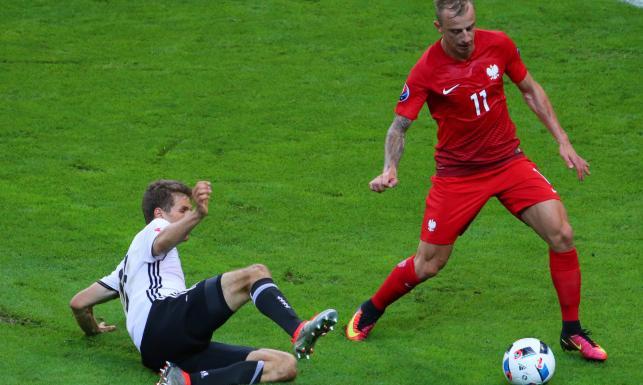 Niemcy nie dali nam rady. Polacy postawili się mistrzom świata. ZDJĘCIA