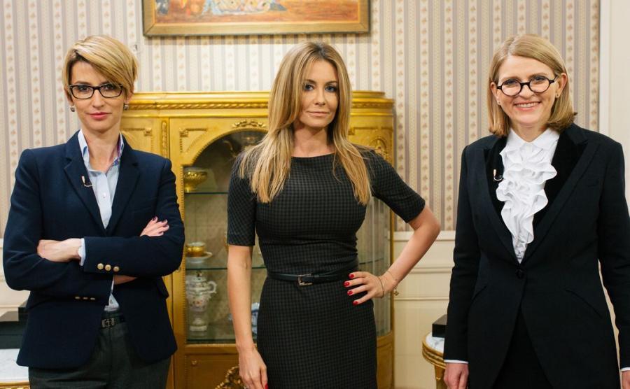 Tatiana Mindewicz-Puacz, Małgorzata Rozenek, dr Irena Kamińska-Radomska