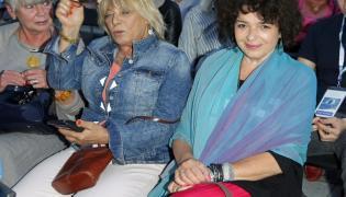 Dorota Stalińska i Katarzyna Grochola