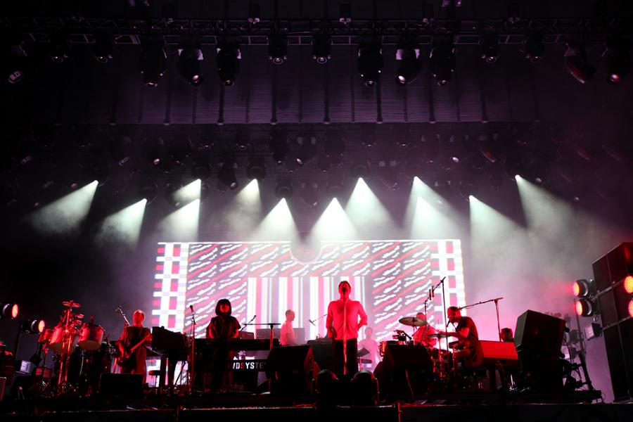 LCD Soundsystem na Open'er 2016 / fot. Joanna Combik